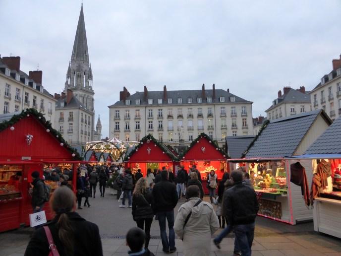 Marché de Noël de Nantes, Place Royal