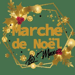 Logo marché de noël