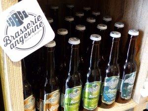 Chalet de bières angevines au marché de noël du Mans