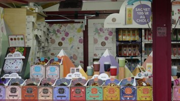 thés et infusions au marché de noël du mans