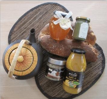 Chalet de produits japonais sur le marché de noël de Rouen