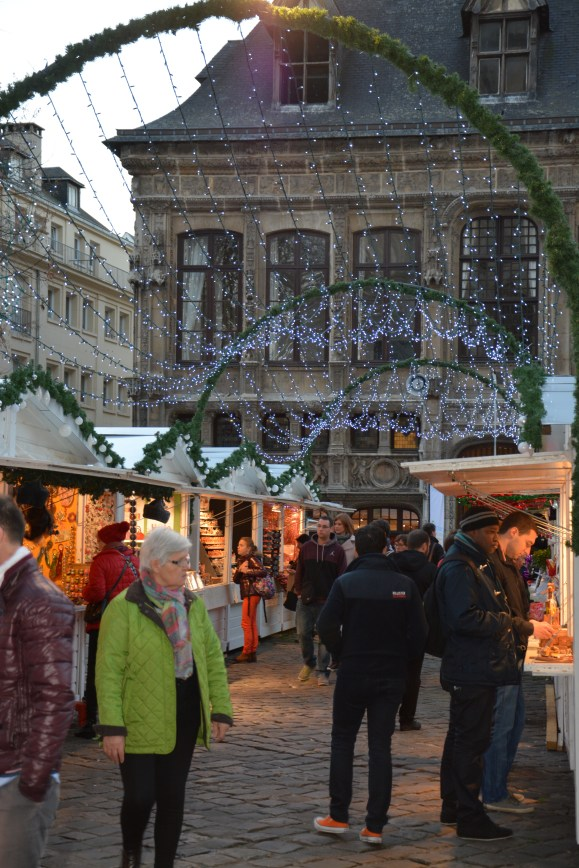 Les belles allés du Marché de Noël de Rouen