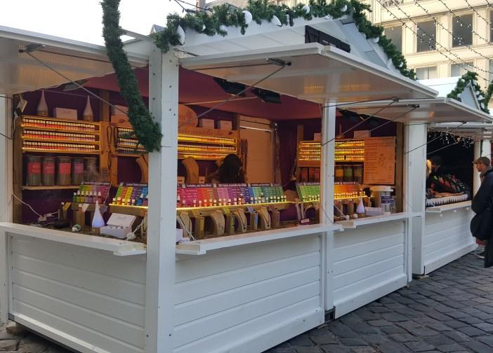 Huiles essentielles bio au Marché de Noël de Rouen