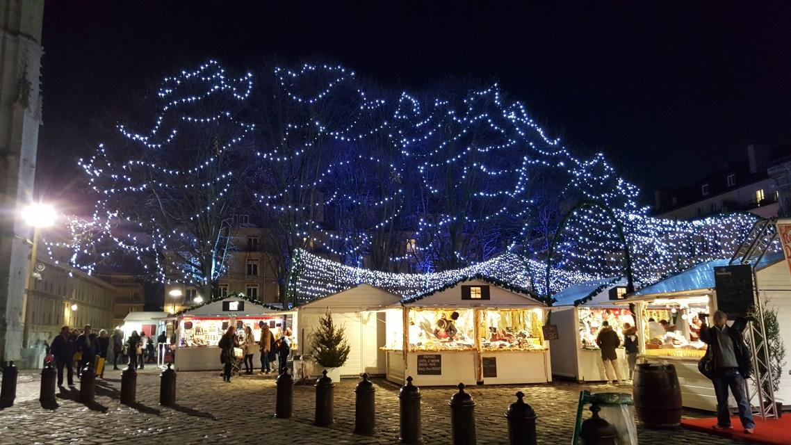 Les illuminations de Noël