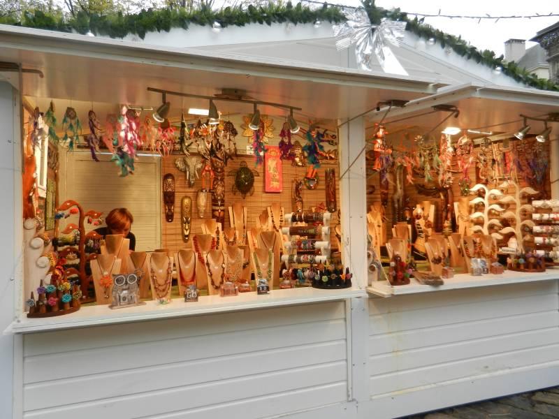 Marché de Noël de Rouen fabrication française