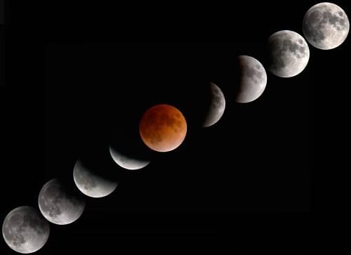 eclissi totale di luna