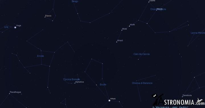 cielo di giugno, astronomia