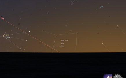 congiunzione Luna Saturno
