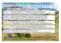 Escursioni e passeggiate nelle Marche a novembre