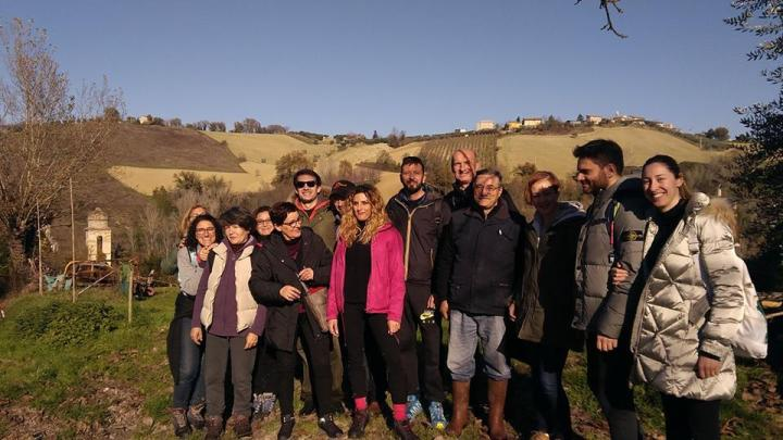 hiking in le Marche