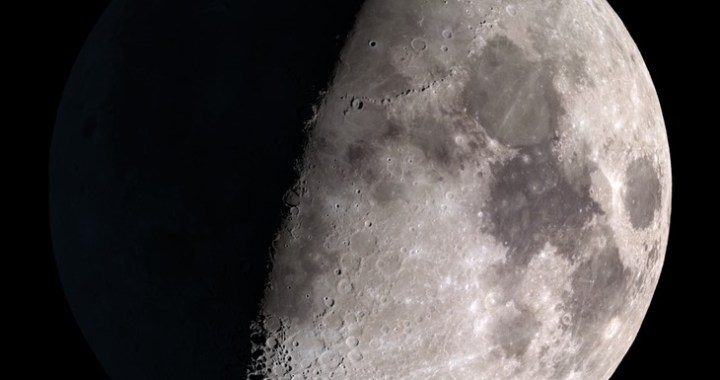 The Moon on 28 October 2017