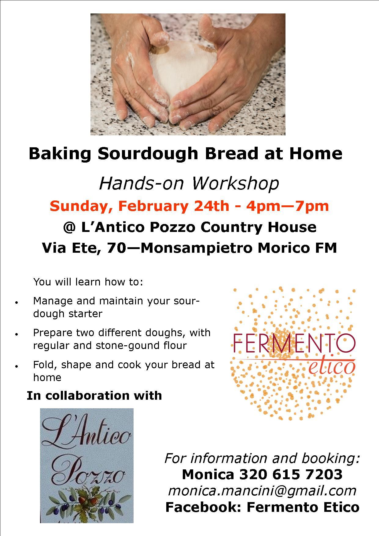 Pane con Lievito Madre, laboratorio pratico