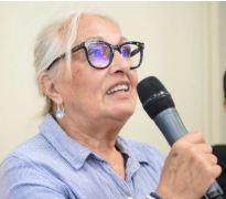 Martine Fustino au Forum des chemins de pèlerinage (avril 2017)
