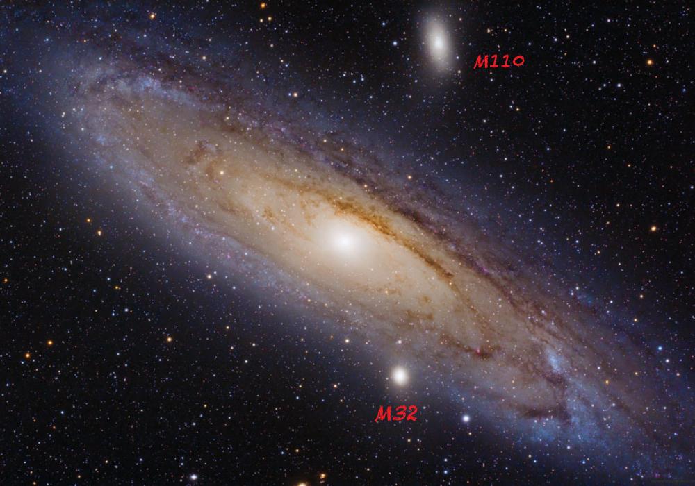 星雲・星団を見てみよう「アンドロメダ大銀河」