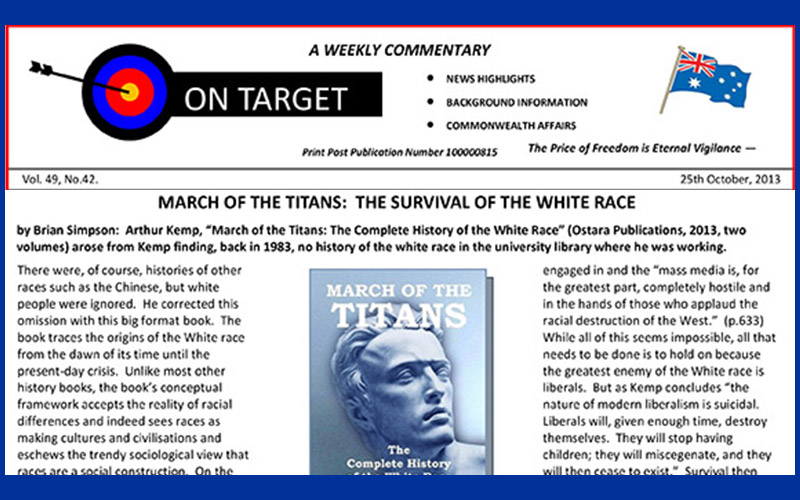 """March of the Titans"" Reviewed in ON TARGET"