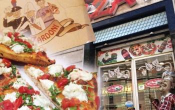 Pizza em Roma!