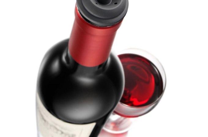 Guardando o vinho depois de aberto