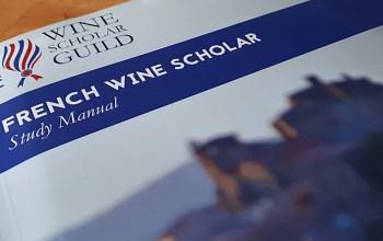 Estudando para o French Wine Scholar