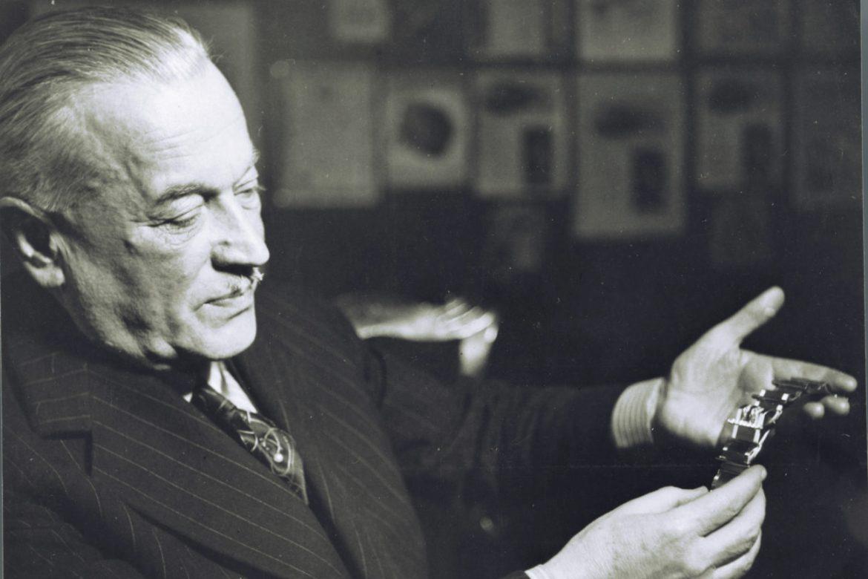 Hans Wilsdorf, em 1942