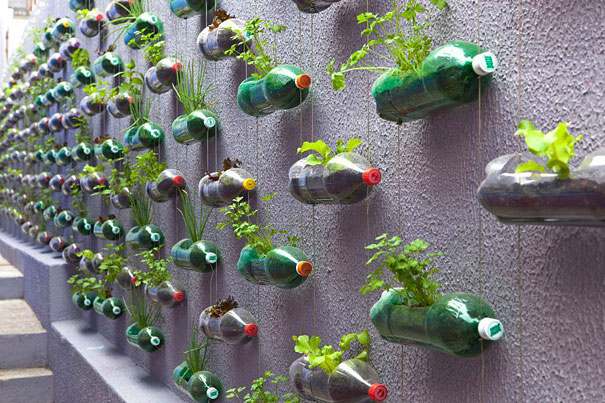reciclar-botellas-jardin
