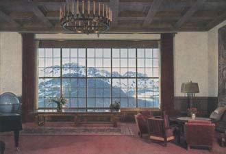 Vista desde la casa de Hitler
