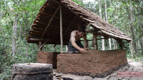construir choza adobe (6)
