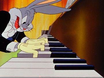 Resultado de imagen de dibujos animados con música clásica