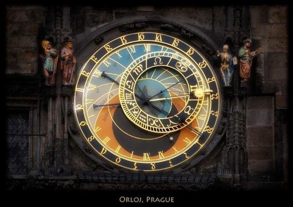 Reloj astronomico de praga orloj