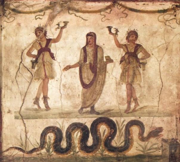 Pompeia.vetii.larario
