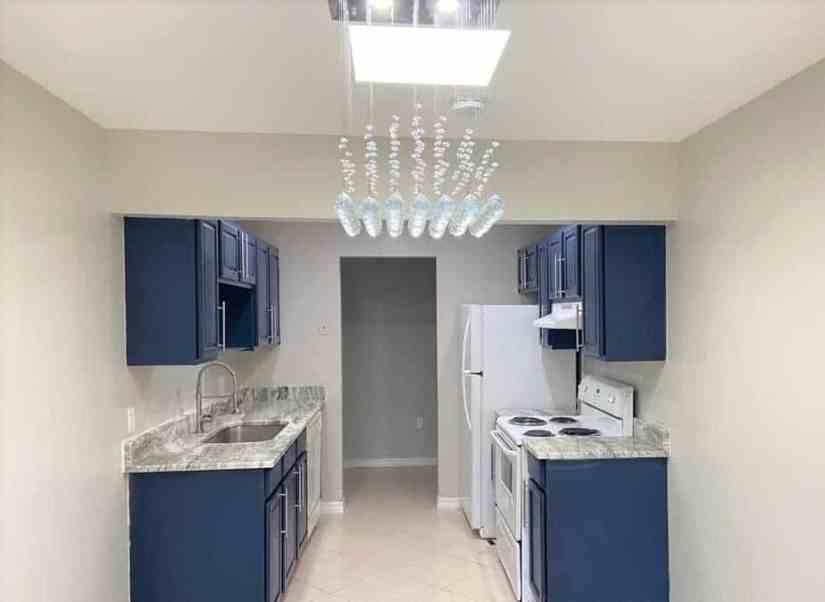 Renovated condo kitchen