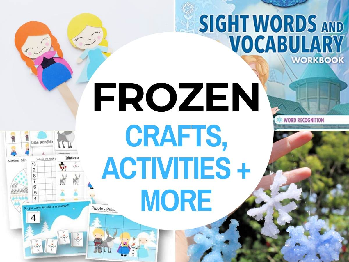 42 Frozen Crafts Amp Activities