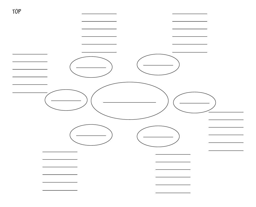 Microsoft Word Mindmap Gridc
