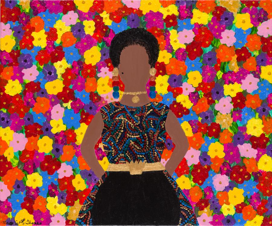 (Wall)Flower - A Self-Portrait