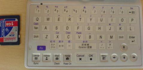 C7×0 keyboard