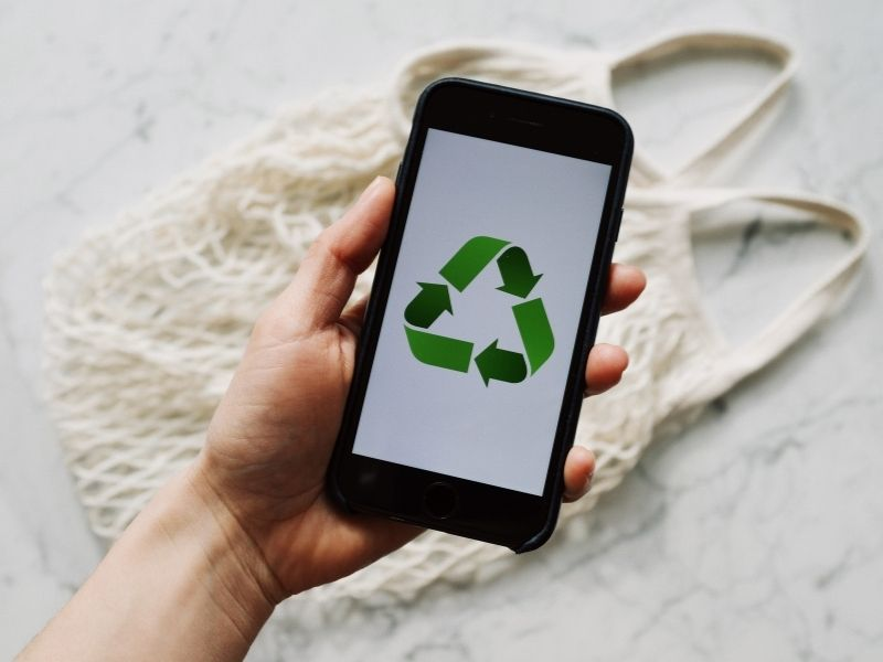 marketing treści recycling