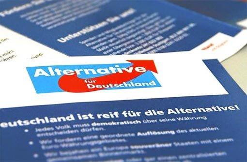"""Der Kreisverband Rottweil-Tuttlingen der """"Alternative für Deutschland"""" (AfD) hat in Rottweil den Europawahlkampf eröffnet. Thema: """"Die Grenzen der Europäischen Integration"""". (Symbolfoto) Foto: Schulz"""