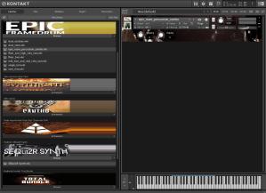 8Dio Epic Room Percussion 190,5 MB ( Percução )