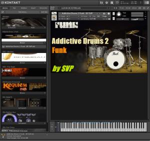 Addictive Drums 2 Funk 68,2 MB ( Bateria )