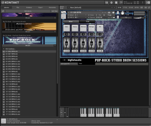 Big Fish Audio - Pop Rock Studio Drum Sessions ,1,68 GB ( Bateria ) ( 32 Bits )