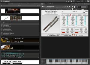 Cacophony Inc Cinematic Tension FX 2 Vol 3 Piccolos 2,52 GB ( Flauta com Efeitos )