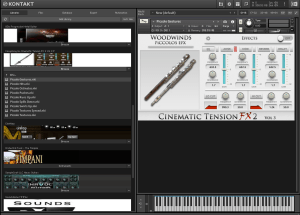 Cacophony Inc Cinematic Tension FX 2 Vol 3 Piccolos 2,52 GB ( Flauta com Efeitos ) ( 32 Bits )