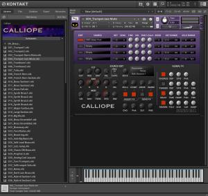 Calliope 829,2 MB ( Teclado , Piano , Pads ) ( 32 Bits )