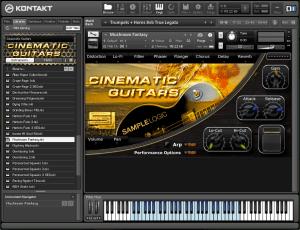 Cinematic Guitars 6,33 GB ( Guitarra ) ( 32 Bits )