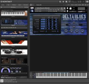 Delta Blues Ac Slide Gtr 293,3 MB ( Violão de Blues e Country ) ( 32 Bits )