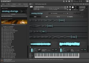 Output Analog Strings 19,72 GB ( Cordas )