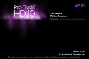 Pro Tools HD 10