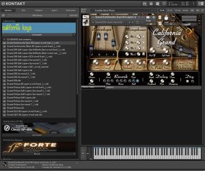 Q Up Arts California Keys 38,53 GB ( Pianos )