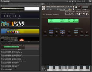 Rhythmic Robot Audio DX Keys Deluxe 909,7 MB ( DX Keys )