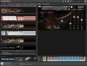 Aria Sounds - LSS Solo Violin 4,08 GB ( Violino Solo ) ( 32 Bits )