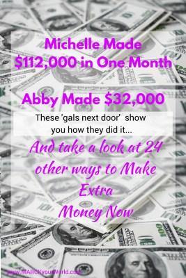 25+ Ways To Make Extra Money Now